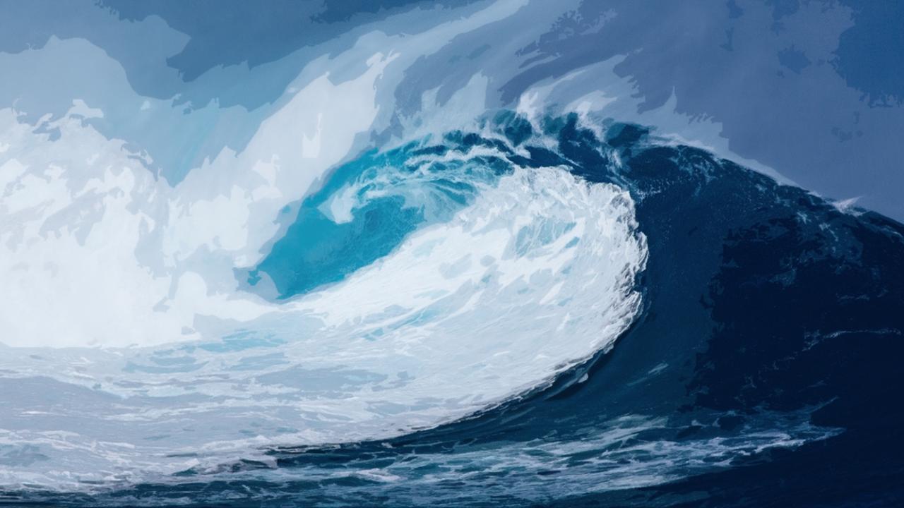 onstuimig is de zee